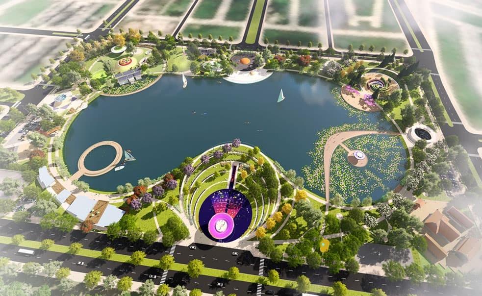 Hồ Thiên Văn Học - Một tiện ích nội khu nổi bật