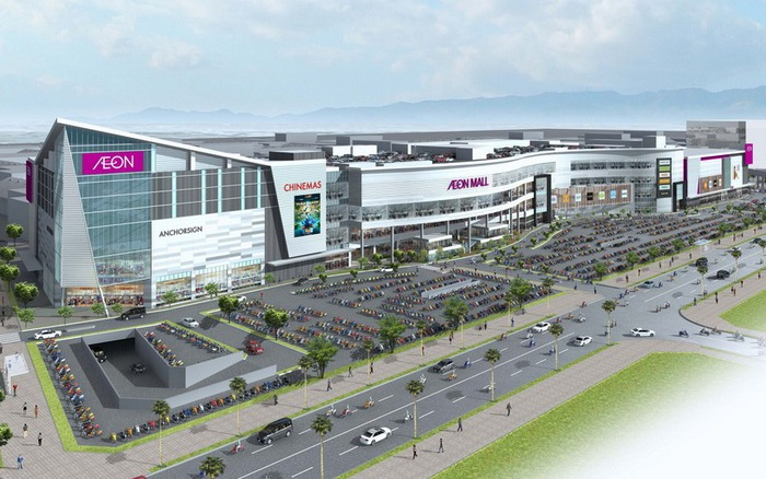 Vị trí biệt thự An Vượng nằm cạnh AEON Mall Hà Đông